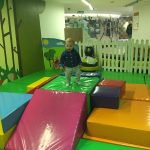 Great entertainment for toddlers at Eden