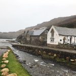 Boscastle village and harbour in Cornwall
